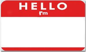 Hello I'm
